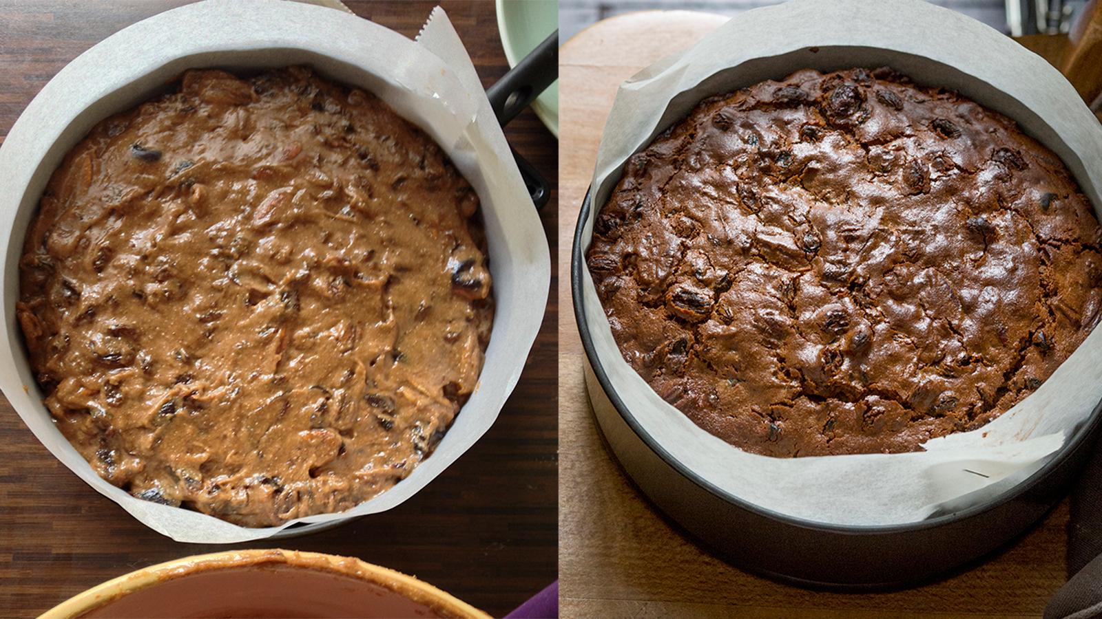 Recipe: Chestnut, sourdough and rum Christmas cake