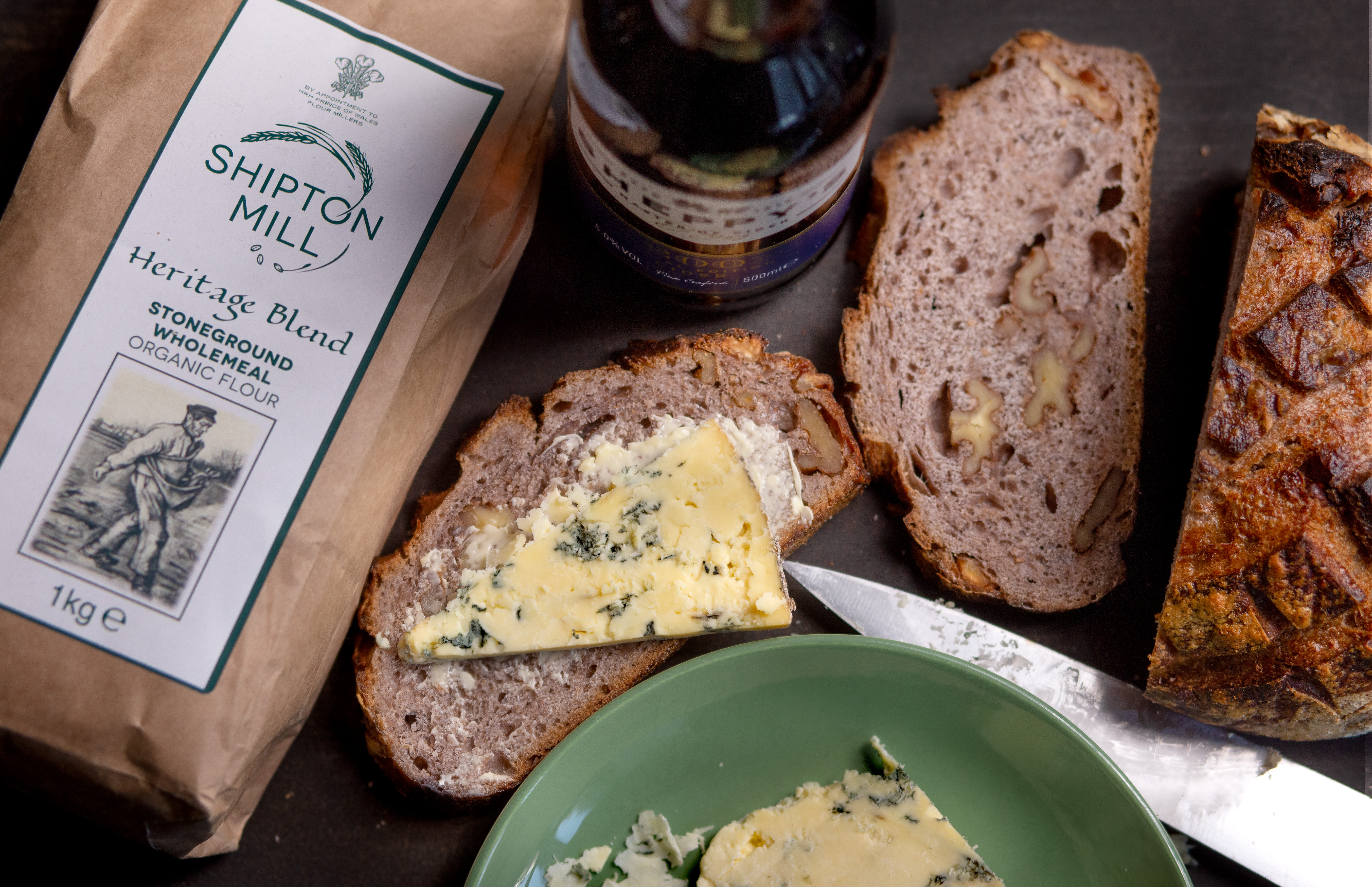 Recipe: Heritage Wheat Sourdough with Cider and Walnuts