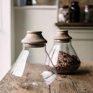 The Sourdough School Nkuku Glass Storage Jars