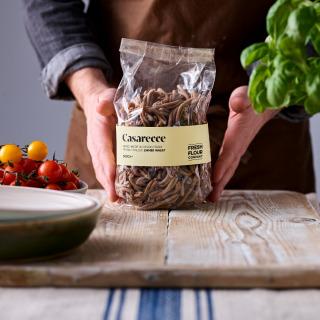 South Devon Pasta Co hand-made Emmer Casarecce, 500g