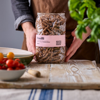 South Devon Pasta Co Hand-made Einkorn Fusilli, 500g
