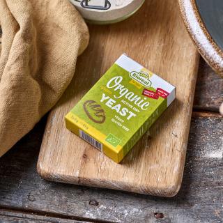 Bioreal® Dried Organic Gluten-Free Instant Yeast 5-pack