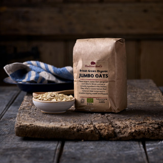 Hodmedod's British Grown Organic Jumbo Oats