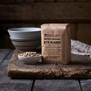 Hodmedod's British Organic Rye Flakes