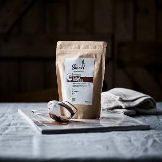 Cocoa Powder in a caddy, Organic and Fairtrade