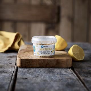Cornish Sea Salt Make it - Lemon Pepper, 55g