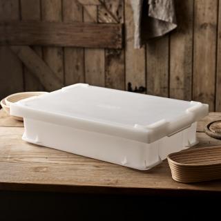 Uni-Box with Lid, 600x400x145mm - White