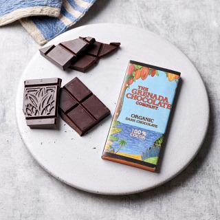 Grenada Chocolate Company 100% Organic Chocolate, 85g