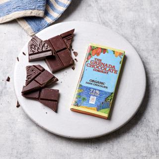 Grenada Chocolate Company 71% Organic Chocolate, 85g