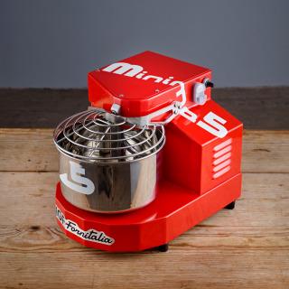 IGF Fornitalia 3100/Minima 5/MI 7L (5kg) Spiral Mixer-Red
