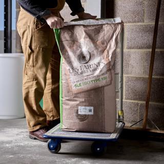 Viron Organic Stoneground T150 Wholemeal, 25kg