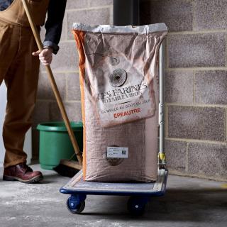 Viron Stoneground Spelt (Epeautre) flour, 25kg