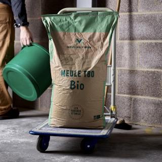 Viron T80 Organic Stoneground flour, 25kg