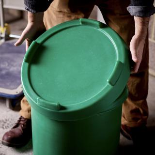 Green Flour Tub Lid