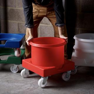 Professional Flour Tub Trolley