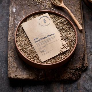 Dried Sourdough Starter (Rye)
