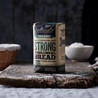 Marriage's Organic Stoneground Strong Wholemeal Bread flour