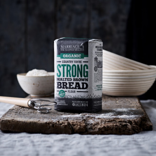 Marriage's Country Fayre Organic Strong Malted Brown Flour