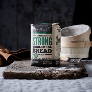 Marriage's Strong Stoneground Wholemeal Bread flour