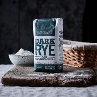 Marriage's Dark Rye Wholemeal flour