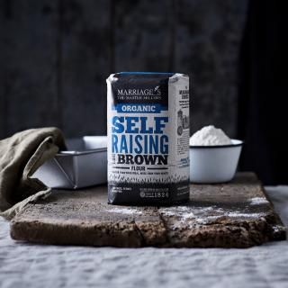 Marriage's Organic Self-Raising Brown Flour