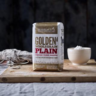 Marriage's Golden Wholegrain Plain flour