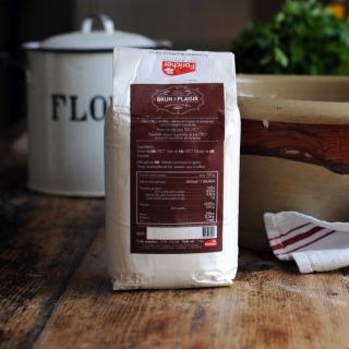 Brun de Plaisir CRC T150 (French Wholemeal Flour)