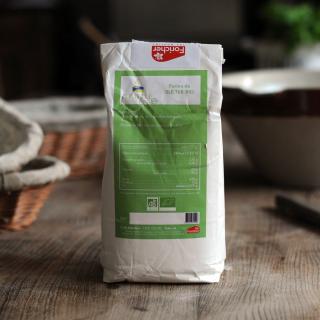 Farine Biologique T65 (French Organic Bread Flour)