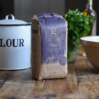 Gilchester Organic Rye Flour