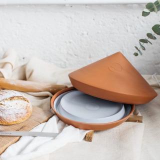 Spring Oven - White Glazed