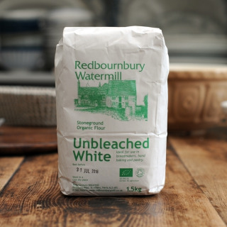 Redbournbury Organic Unbleached White Flour