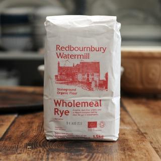 Redbournbury Organic Rye Flour