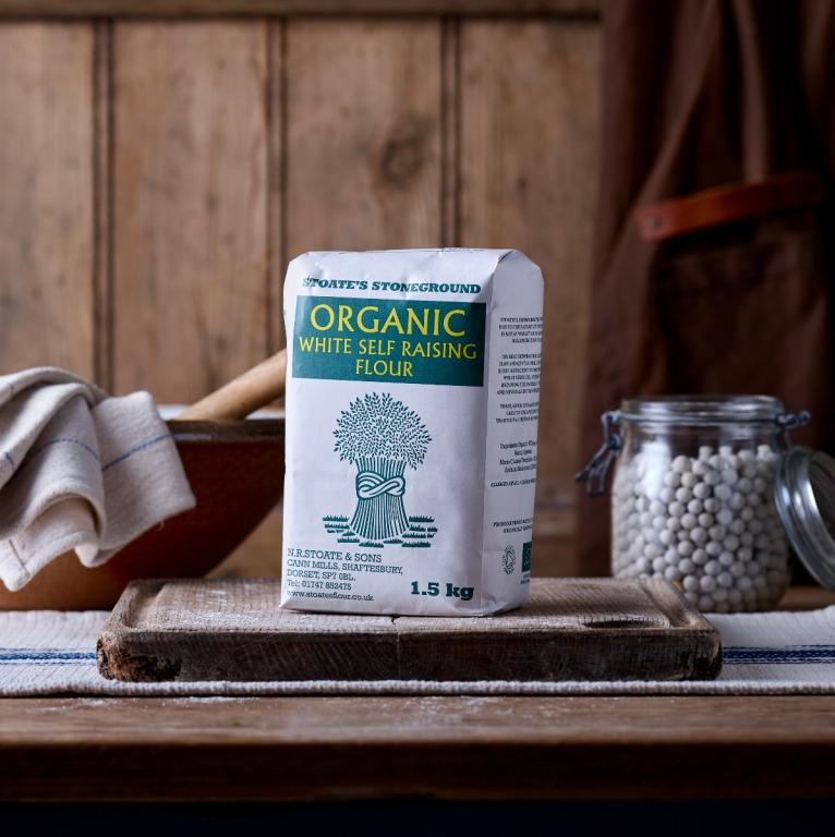 Stoates Organic Self-Raising Flour