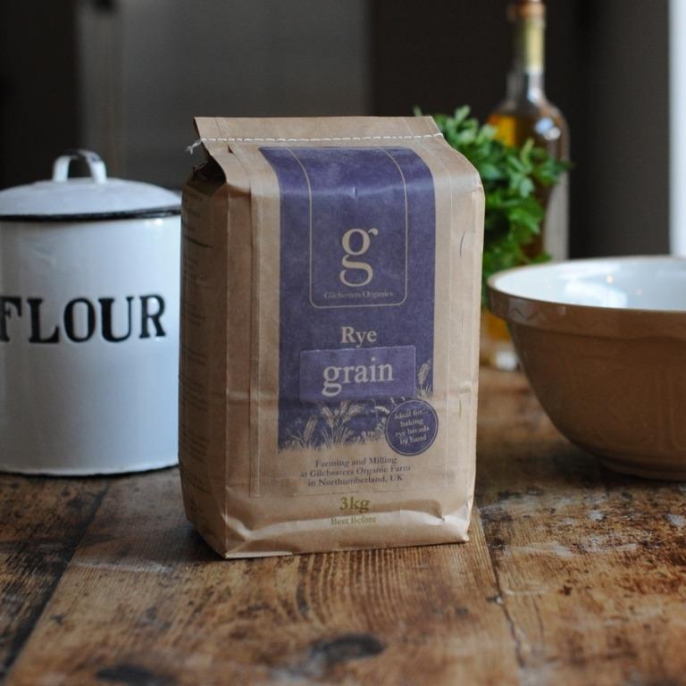Gilchester Organic Rye Grain