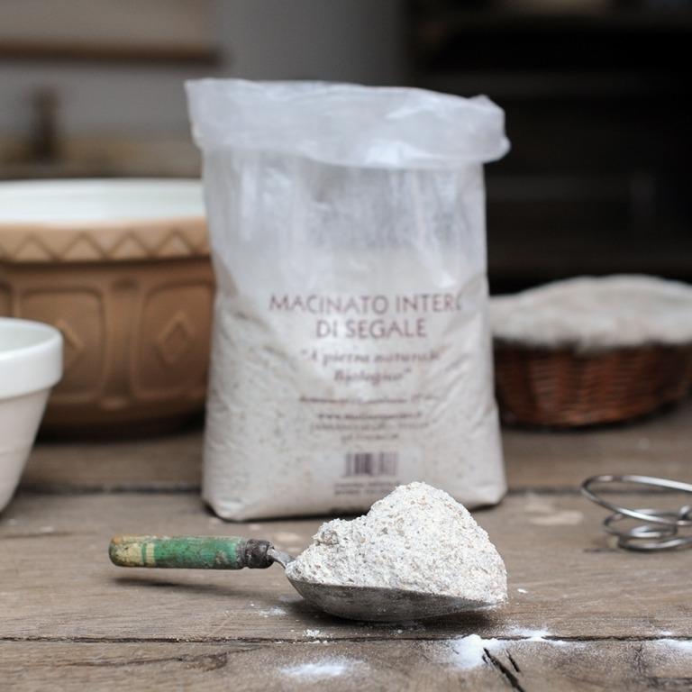 Organic Segale integrale (Wholemeal Rye) Flour