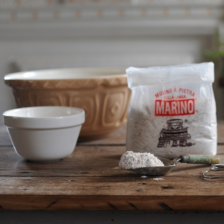 Organic Macina or Macinato Integrale (Wholemeal) Flour