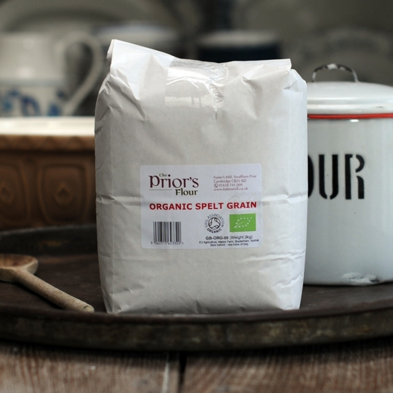 The Priors Organic Spelt Grain