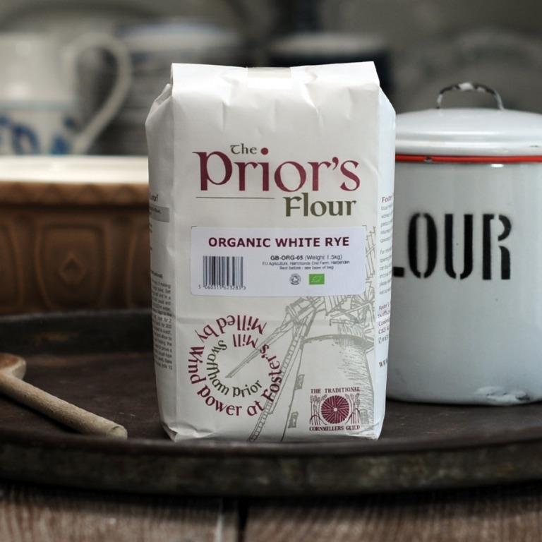 The Priors Organic White Rye Flour