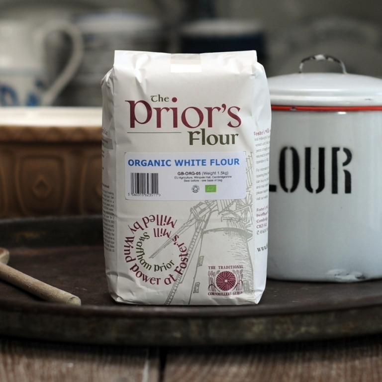 The Priors Organic Strong White Flour
