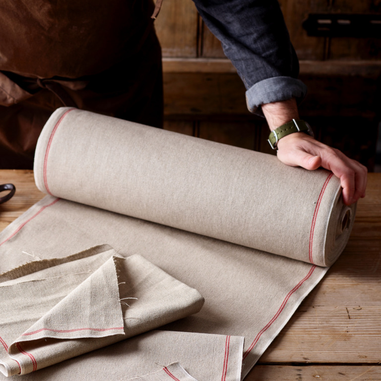 """Couche Proofing Linen by Running Metre 50cm (20"""") wide"""