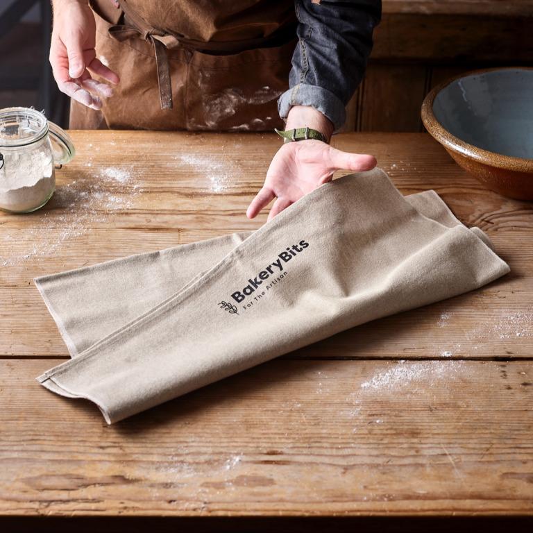 Heavy Duty Couche Proofing Linen for Baguettes